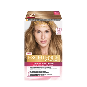 L'ORÉAL  Excellence 7.31 Golden Beige Blonde 7.31 192ML