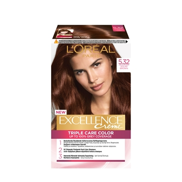 L'ORÉAL  Excellence 5.32 Solar Brown 5.32 192ML