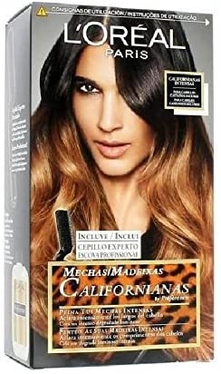 L'Oreal Paris dye Californian Wicks Dark hair
