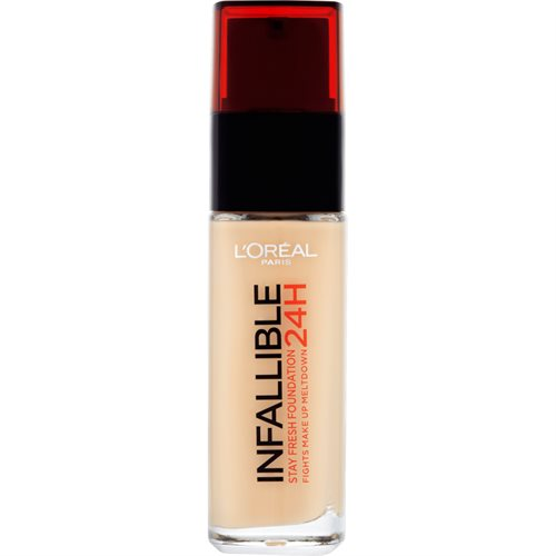 L'Oreal  Foundation Infallible 24H 125 Natural Rose 30ml