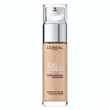 L'Oreal Paris True Match Foundation 3N Beige Creme  30ml