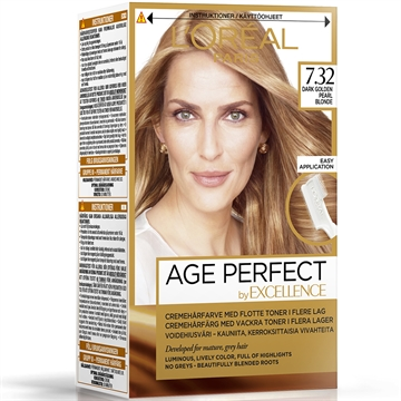 L'ORÉAL  Excellence Age Prefect 7.32 Dark Golden Pearl Blonde  180ml