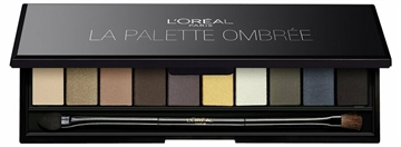 L'Oréal Color Riche La Palette Ombree - Smokey Symphony of 10 Smoky Eyeshadows