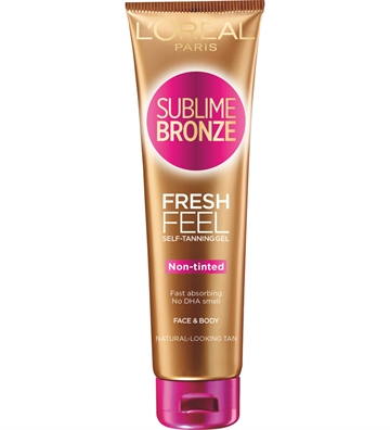 L'ORÉAL  Sublime Bronze Fresh Feel Self-Tanning Gel Face & Body 150 ml