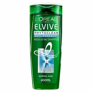 L ORÉAL ELVIVE Shampoo Phytoclear Normal Hair Anti-Dandruff Regulating 400ml