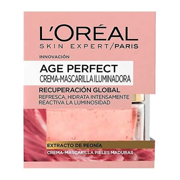 L'Oreal Age Perfect Facial Mask 50 Gr  Peony Extract Mature Skin