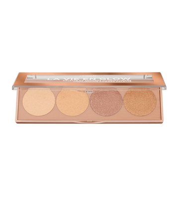 L'Oreal Paris La Vie En Glow Highlighting Powder Palette 01 5G