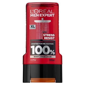 L'ORÉAL MEN EXPERT SHOWER GEL STRESS RESIST 300ML