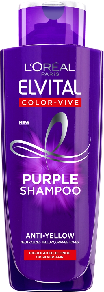 L'Oreal Paris Elvital Color Vive Purple Shampoo 200ml