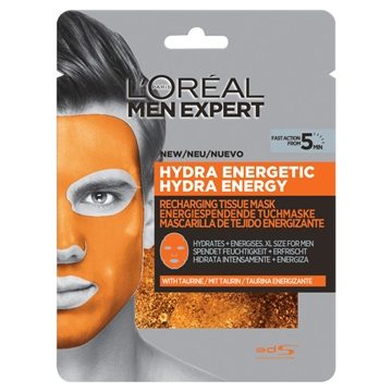 L'ORÉAL  Men Expert Hydra Energetic Tissue Mask 30G.