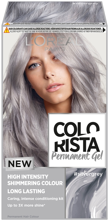 L'Oréal Colorista Permanent Gel Silvergrey  204ml