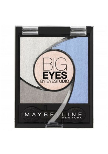 Maybelline Big Eyes by Eyestudio Eyeshadow Light Catching Palette Luminous Blue #04