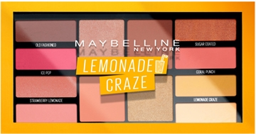 Maybelline Eyeshadow Palette Lemonade Craze
