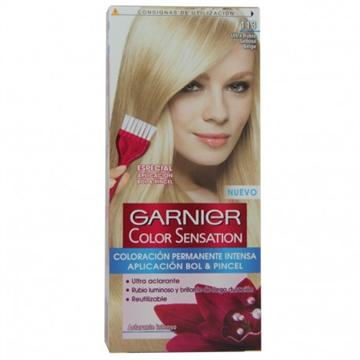 Garnier dye hair 113 Blond hair bright