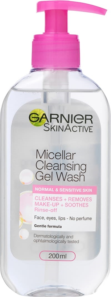 Garnier  Micellar Water wash pump 200ml