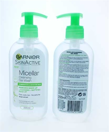 Garnier Micellar Cleansing Wash Comb & Sensitive 200ml