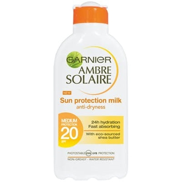 Garnier Sun Protection Milk Spf20  200ml