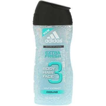 Adidas Shower 250ml 3in1 Extra Fresh