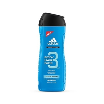 Adidas Shower Gel - After Sport 3In1 For Men 400ml
