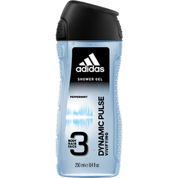 Adidas Shower 250ml 2in1 Dynamic Pulse