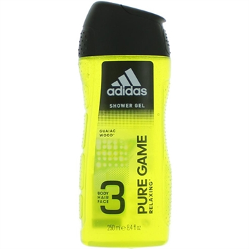 Adidas Shower 250ml 2in1 Pure Game