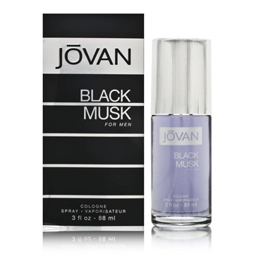 Jovan Black Musk For Men Cologne Spray 88ml