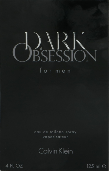 Calvin Klein Dark Obsession Edt Spray 125ml
