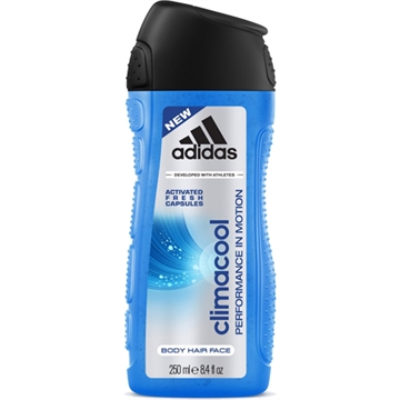 Adidas Shower 250ml 3in1 Climacool