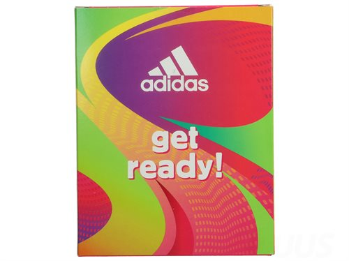 Adidas Set - Get Ready For Her 400ml Deo Spray 150ml/Shower Gel 250ml