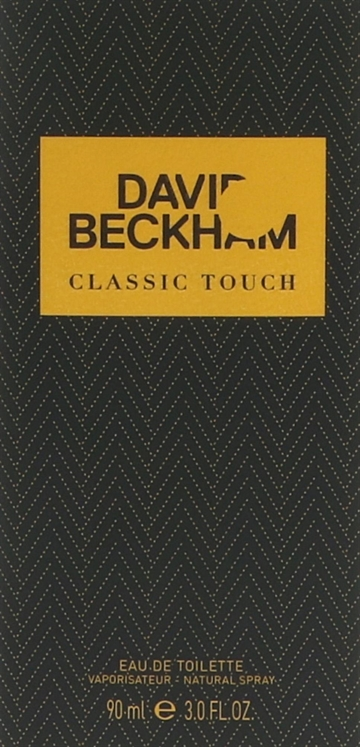 David Beckham Classic Touch Edt Spray 90ml