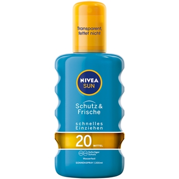 Nivea Sun Protect & Refresh Spray 200ml LSF20