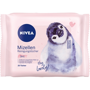 Nivea Visage Facial Cleansing Wipes 25pcs Micelle