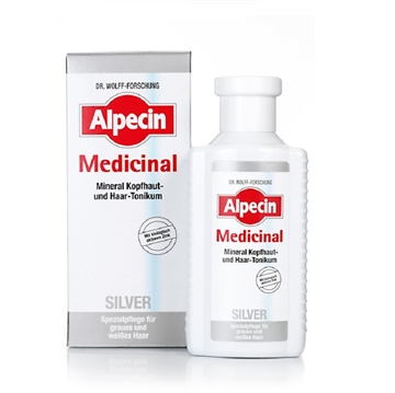 Alpecin Medicinal Silver Hair Tonic For Yellow Tones Neutralization 200ml