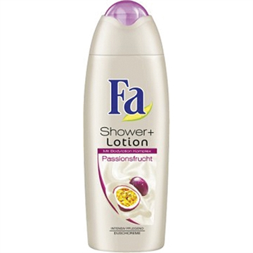 Fa Shower 250ml shower&lotion passion fruit