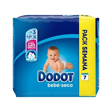 Dodot Diapers 32' 5-10 Kg Size 3