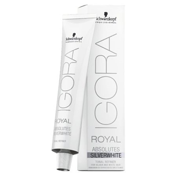 Schwarzkopf IGORA ROYAL ABSOLUTES SILVER WHITE SLATE GREY 60ML