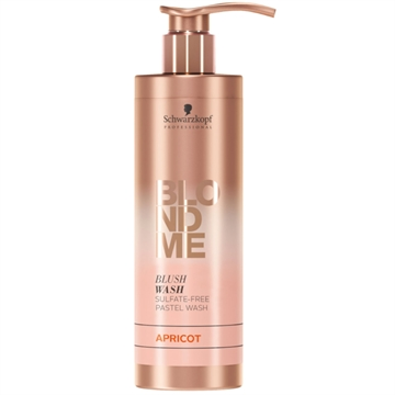 Schwarzkopf Blonde Me Blush Wash Apricot 250ml