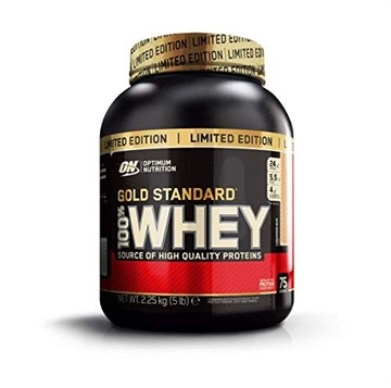 Optimum Nutrition 100 Whey Gold 2.26kg cinnamon bun