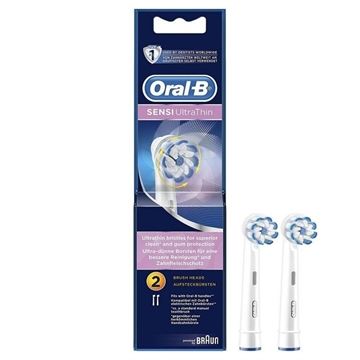 Oral-B Electric Toothbrush Head 2'S - Sensi Ultra.