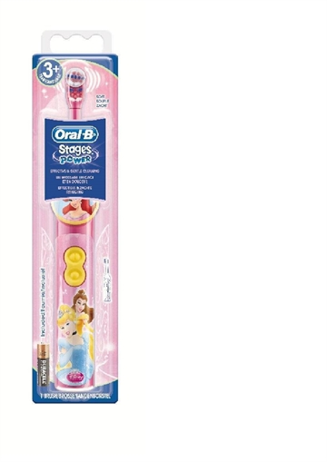 Oral-B Battery Brush Barn Oscillerande tandborste Multifärg