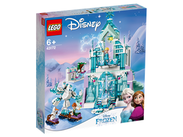 LEGO Disney Princess 43172 Elsa's Magical Ice Palace