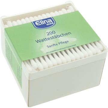 Cotton Swabs 200' Square Container Paper Sticks