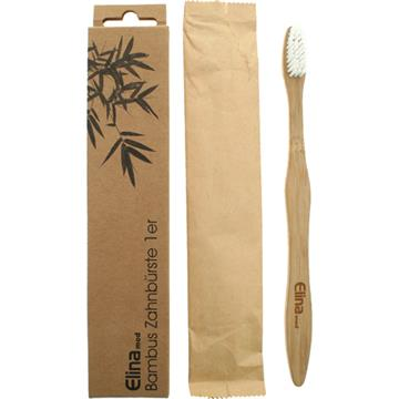 Toothbrush  Elina Bamboo 1Pc In Paper Box