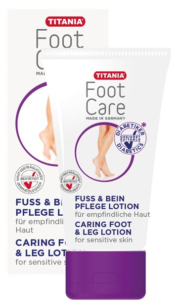 Titania Foot & Leg Lotion Diabetes
