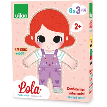 Lola moody wooden puzzle