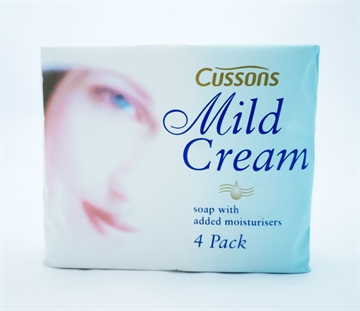 Mild Cream Soap White 4' 90G