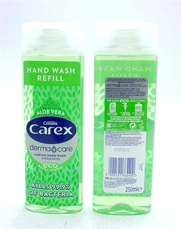 Carex Antibac Hand Wash Aloe Vera 250ml