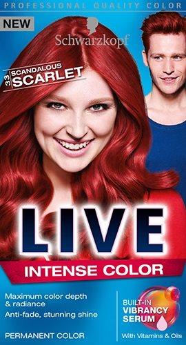 Live Color Scarlet 33