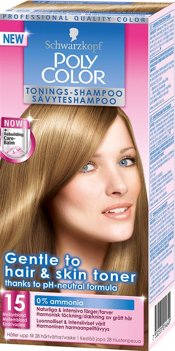 Polycolor Medium Blonde 15
