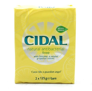 Cidal Antibacterial Soap Twin Pack 125Gm